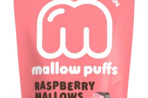 RASPBERRY MALLOWS DUNKED IN BELGIAN DARK CHOCOLATE