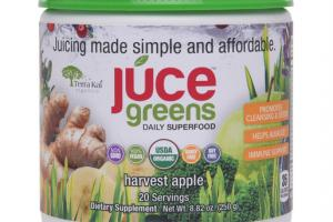 GREENS DAILY SUPERFOOD DIETARY SUPPLEMENT HARVEST APPLE