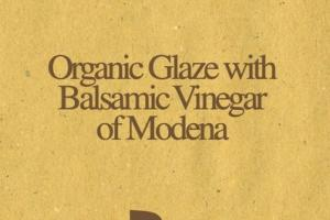 ORGANIC GLAZE WITH BALSAMIC VINEGAR OF MODENA