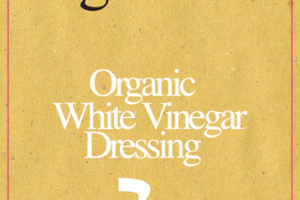 ORGANIC WHITE VINEGAR DRESSING