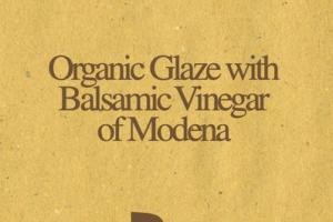 ORGANIC GLAZE WITH BALSAMIC VINEGAR OF MODENA
