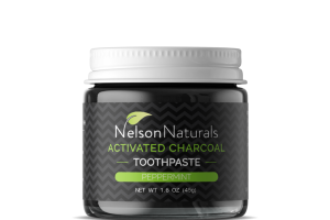 ACTIVATED CHARCOAL TOOTHPASTE, PEPPERMINT