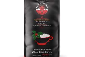 MEDIUM-DARK ROAST EGGNOG CREME BRULEE 100% ARABICA GOURMET HOLIDAY COFFEE