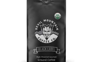 HIGH-POWERED GOURMET ORGANIC GROUND COFFEE