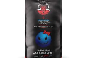 BLUEBERRY BETTY MEDIUM BLEND HOLIDAY FAVORITES 100% ARABICA LIGHT ROAST WHOLE BEAN GOURMET COFFEE