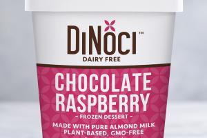 CHOCOLATE RASPBERRY DAIRY FREE FROZEN DESSERT