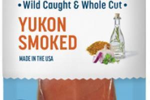 YUKON SMOKED SOCKEYE SALMON JERKY STRIP