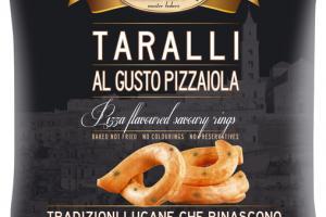PIZZA FLAVOURED SAVORY RINGS TARALLI
