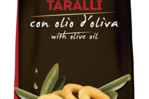TARALLI SAVOURY RINGS WITH OLIVE OIL