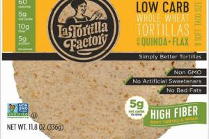 WHOLE WHEAT WITH QUINOA + FLAX SIMPLY BETTER TORTILLAS