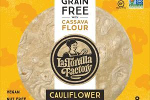 CAULIFLOWER GRAIN FREE WITH CASSAVA FLOUR TORTILLAS