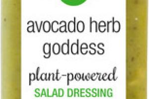 AVOCADO HERB GODDESS PLANT-POWERED SALAD DRESSING