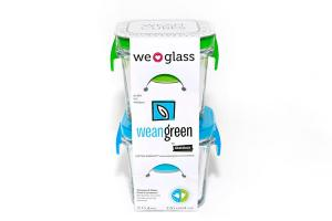 WE GLASS WEAN CUBES • MINI CUBES