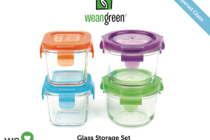 GLASS STORAGE SET