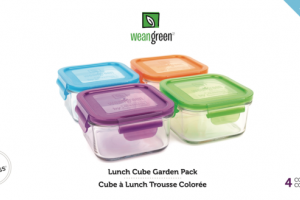 LUNCH CUBE GARDEN PACK