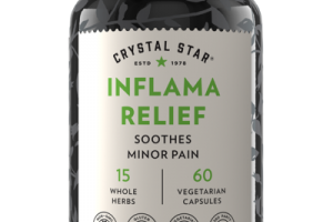 INFLAMA RELIEF SOOTHES MINOR PAIN DIETARY SUPPLEMENT VEGETARIAN CAPSULES