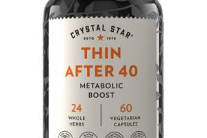THIN AFTER 40 METABOLIC BOOST DIETARY SUPPLEMENT VEGETARIAN CAPSULES