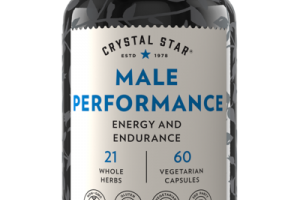 MALE PERFORMANCE ENERGY AND ENDURANCE DIETARY SUPPLEMENT VEGETARIAN CAPSULES