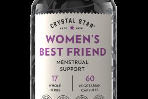 WOMEN'S BEST FRIEND MENSTRUAL SUPPORT DIETARY SUPPLEMENT VEGETARIAN CAPSULES
