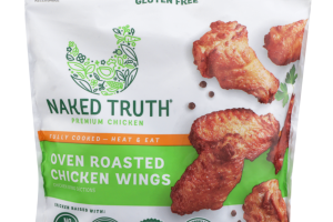 PREMIUM OVEN ROASTED CHICKEN WINGS