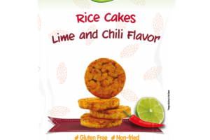 LIME AND CHILI FLAVOR RICE CAKES