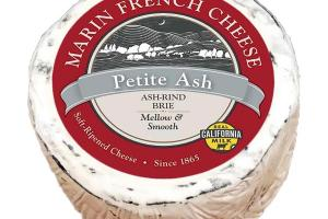 PETITE ASH RIND BRIE SOFT-RIPENED CHEESE
