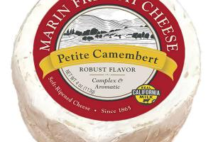 PETITE CAMEMBERT ROBUST FLAVOR SOFT-RIPENED CHEESE
