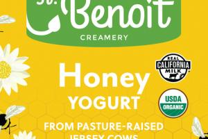 HONEY YOGURT FROM PASTURE-RAISED