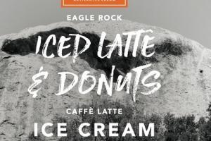 ICED LATTE & DONUTS EAGLE ROCK CAFFE LATTE ICE CREAM