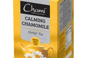 CALMING CHAMOMILE HERBAL TEA BAG SACHETS