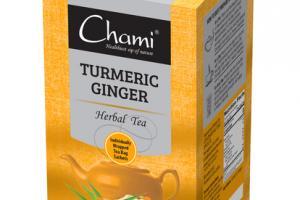 TURMERIC GINGER HERBAL TEA BAG SACHETS