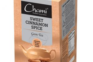 SWEET CINNAMON SPICE GREEN TEA BAGS
