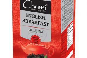 ENGLISH BREAKFAST BLACK TEA BAG SACHETS