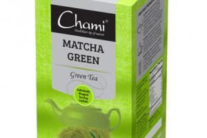MATCHA GREEN TEA BAGS