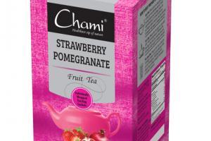 STRAWBERRY POMEGRANATE FRUIT TEA BAG SACHETS