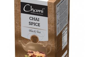 CHAI SPICE BLACK TEA BAGS SACHETS