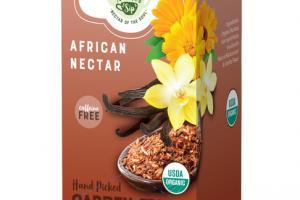 AFRICAN NECTAR CAFFEINE FREE ORGANIC TEA SACHETS