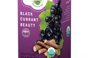 BLACK CURRANT BEAUTY ORGANIC TEA SACHETS