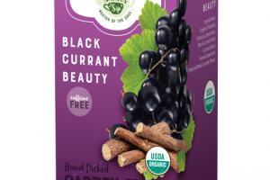 BLACK CURRANT BEAUTY ORGANIC TEA SACHETS