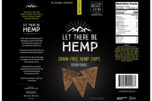 VEGAN RANCH GRAIN-FREE HEMP CHIPS