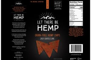 GRAIN-FREE HEMP CHIPS SPICY CHIPOTLE LIME