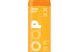 ORANGE, CARROT, TURMERIC SPRING BREAK 100% COLD-PRESSED JUICE