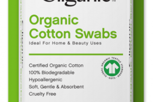 100% PURE ORGANIC COTTON SWABS