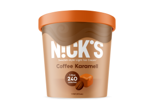 COFFEE KARAMELL SWEDISH-STYLE LIGHT ICE CREAM