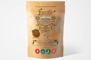 COFFEE ALTERNATIVE WITH CINNAMON ROASTED & GROUND MAYA SEED