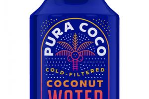 COLD-FILTERED COCONUT WATER