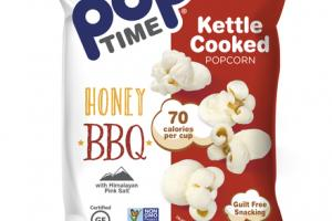 HONEY BBQ KETTLE COOKED POPCORN WITH HIMALAYAN PINK SALT