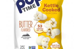 BUTTER FLAVORED KETTLE COOKED POPCORN