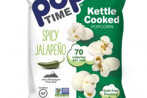 SPICY JALAPENO WITH HIMALAYAN PINK SALT KETTLE COOKED POPCORN