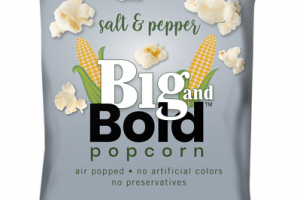 SALT & PEPPER POPCORN